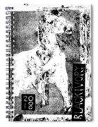 Horse Front 3 Spiral Notebook