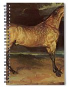 Horse In The Storm 1821 Spiral Notebook