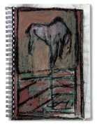 Horse Stables Spiral Notebook