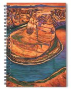 Horseshoe Bend Sunset Spiral Notebook