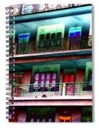 Hostel Spiral Notebook