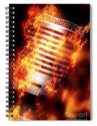 Hot Mic Spiral Notebook