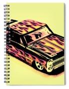 Hot Wheels Spiral Notebook