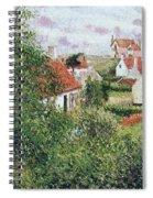 Houses At Knocke, Belgium, 1894 Spiral Notebook