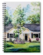 Houston House Portrait Spiral Notebook
