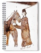 How The Camel Got His Hump Digital And Drawings D4-1 Spiral Notebook