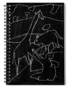 How The Leopard Got His Spots Dr14ed4 Spiral Notebook
