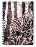 How The Leopard Got His Spots Zebra D16ed3 Spiral Notebook