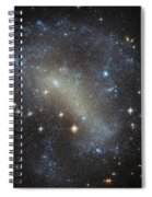 Hubbles Frenzy Of Stars Spiral Notebook