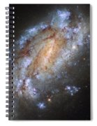 Hubbles Lonely Firework Display Spiral Notebook