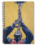 Hugh Masakela Spiral Notebook