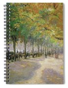 Hyde Park, London, 1890 Spiral Notebook