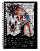 I Am A Woman Spiral Notebook