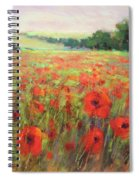 I Dream Of Poppies Spiral Notebook