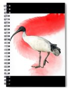 I Is For Ibis Spiral Notebook