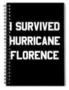 I Survived Hurricane Florence Spiral Notebook