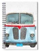 Ice Cream Food Truck Metro Van Spiral Notebook