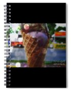 Icecream Dreams Spiral Notebook