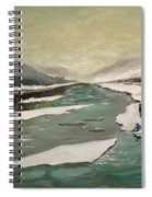 Icey River Spiral Notebook