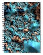 Icy Peaks Spiral Notebook