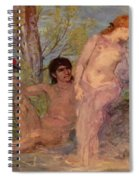 Idyll 1866 Spiral Notebook