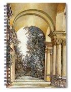 Il Bosco Dopo Le Arcate Spiral Notebook