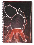 Image 23 I Was Born In A Mine Woodcut Spiral Notebook