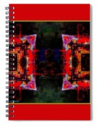imagery in healing in a Buddhism way Spiral Notebook
