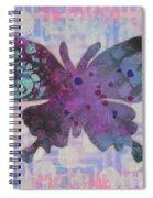 Imagine Butterfly Spiral Notebook