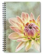 Impression Flower Spiral Notebook