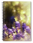 Impressions Of Muscari Spiral Notebook