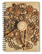 Improvised Time Spiral Notebook