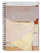 In Bed - Digital Remastered Edition Spiral Notebook