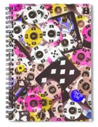 In Casino Colors Spiral Notebook