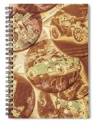 In Fashion Of Classic Cars Spiral Notebook