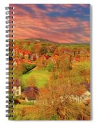 In Our English Towns Spiral Notebook