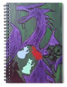 In The Belly Of The Dragon Spiral Notebook