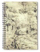 In The Fields At Ennery, 1875 Spiral Notebook