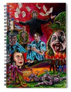 In The Mouth Of Madness Spiral Notebook