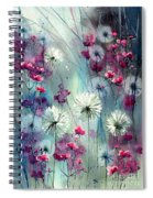 In The Night Garden - Pink Buds  Spiral Notebook