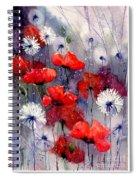 In The Night Garden - Sleeping Poppies Spiral Notebook