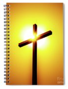 In The Shadow Of The Cross Spiral Notebook