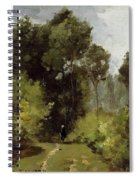 In The Woods, 1864 Spiral Notebook