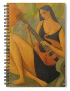 Incidental Music Spiral Notebook