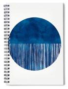Indigo Moon- Art By Linda Woods Spiral Notebook