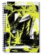 Industrial Abstract Painting II Spiral Notebook
