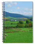Innerleithen And Tweed Valley Looking East Spiral Notebook