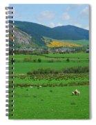 Innerleithen In The Tweed Valley Spiral Notebook