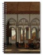 Interior Of The Oude Kerk  Amsterdam  Spiral Notebook