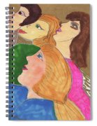 Intrigue At The Theater Spiral Notebook